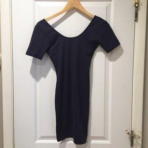 American Apparel LIKE NEW Navy Cotton Dress Medium